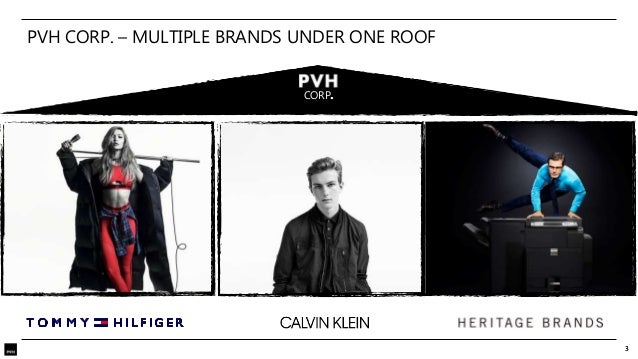 PVH- Tommy Hilfiger, Calvin Klein, Heritage Brands Slide 3