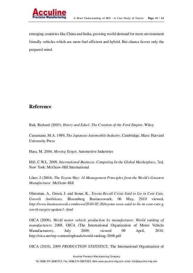 toyota transnational strategy Toyota's global strategy —moving toward global motorization— toyota's global strategy —moving toward global motorization— april 16, 2003.