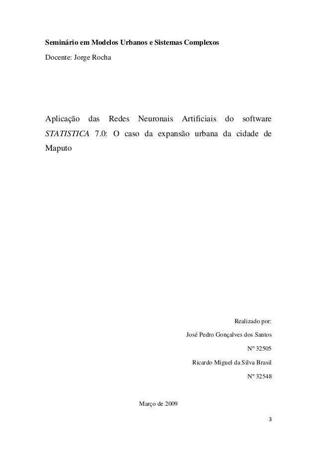 7.0 BAIXAR PROGRAMA STATISTICA