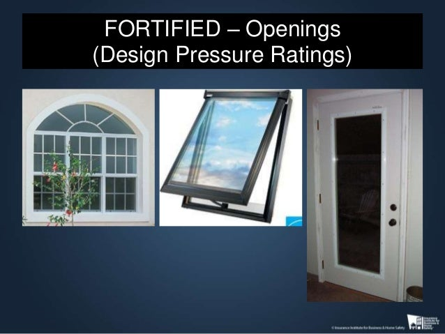 Fortified Home Hurricane Digging Deeper Into The