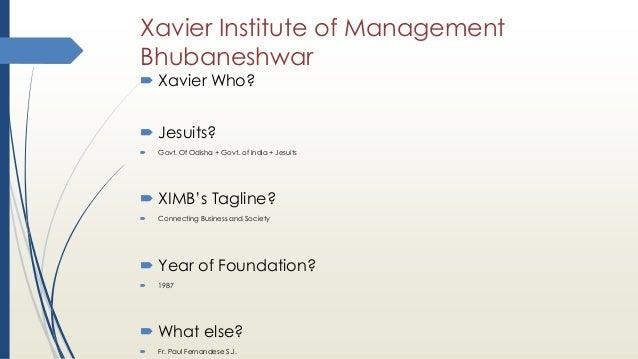 Enter-Training for Students of Xavier Institute of Management Bhubane…