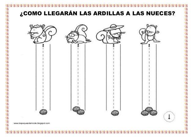 ¿COMO LLEGARÁN LAS ARDILLAS A LAS NUECES? www.lospequesdemicole.blogspot.com