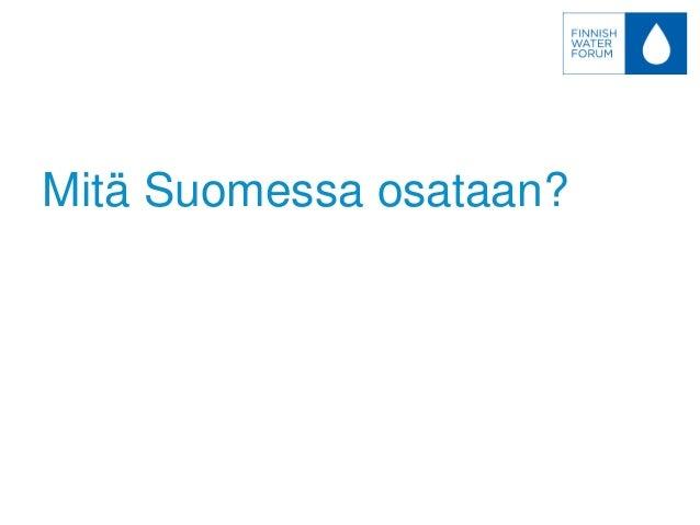 Finnish Water Forum