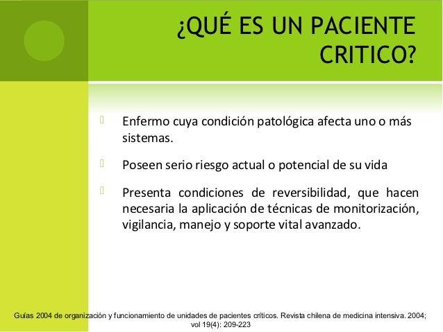 PACIENTE CRITICO DEFINICION PDF DOWNLOAD