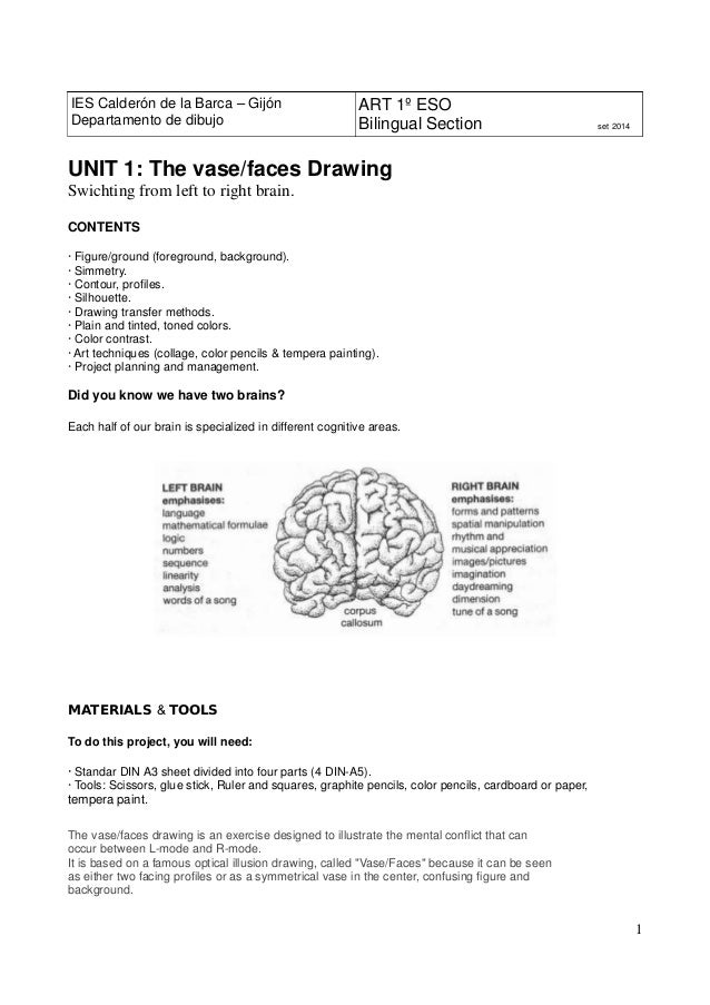 1 Unit1 The Vasefaces Drawing