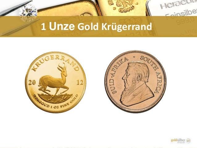 1 Unze Gold Krügerrand