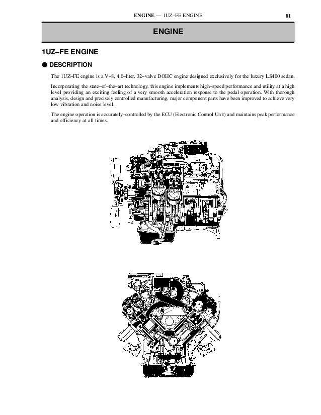 ENGINE — 1UZ–FE ENGINE                                                 81                                                 ...