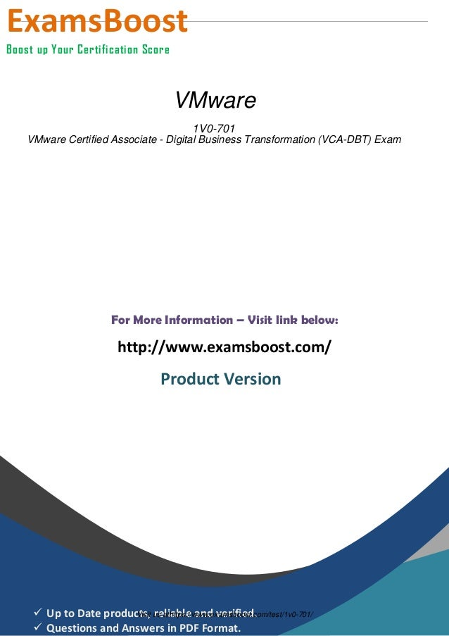 1 V0 701 Exam Software
