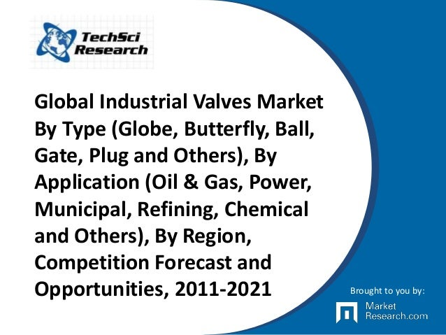 Global Industrial Valves Market By Type (Globe, Butterfly, Ball, Gate, Plug and Others), By Application (Oil & Gas, Power,...