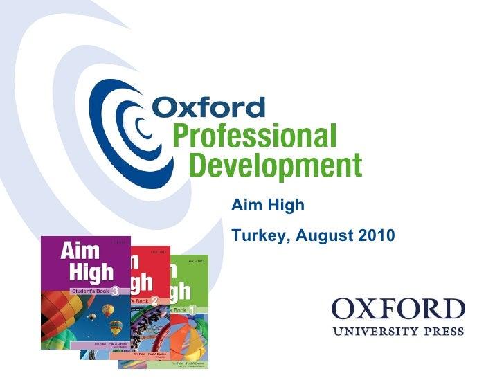 Aim High Turkey, August 2010