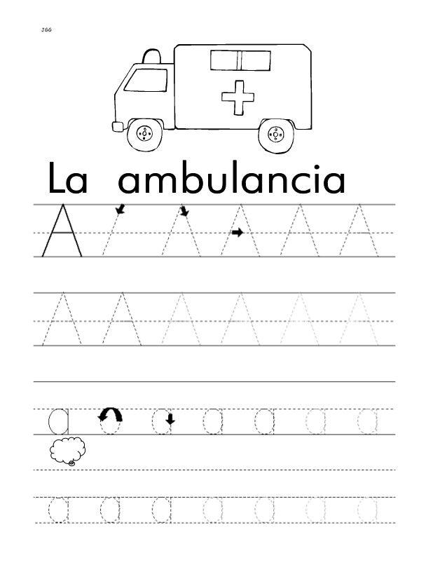 JGG INDICACIONES: Repasa las letras punteadas con un color y escribe las palabras una vez en tu libreta