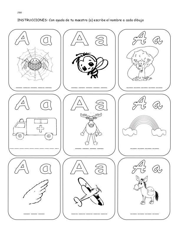 JGG INSTRUCCIONES: Con ayuda de tu maestro (a) escribe el nombre a cada dibujo ___ ___ ___ ___ ___ ___ ___ ___ ___ ___ ___...