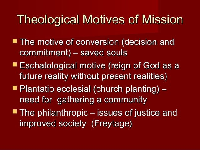 Reflecting on MissionReflecting on Mission  Mission as ? The word Mission is found in theMission as ? The word Mission is...