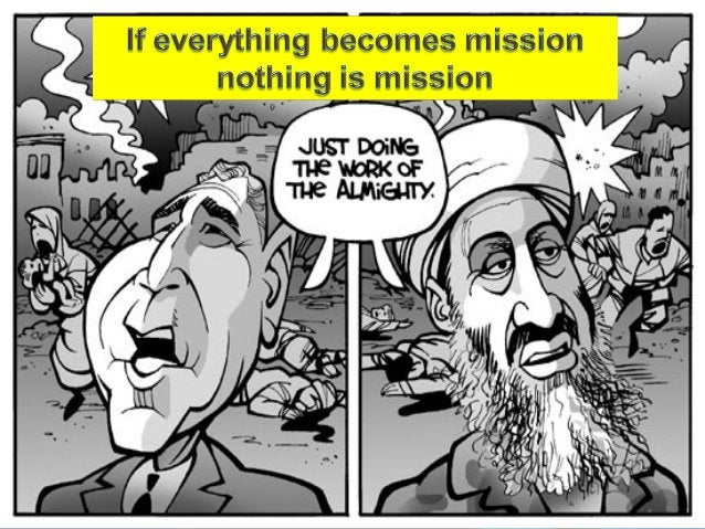 Traditional understanding ofTraditional understanding of mission as Expansionismmission as Expansionism  Mission was seen...