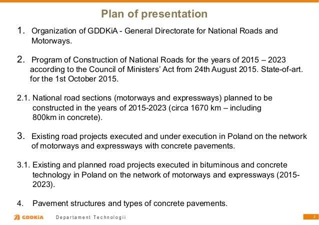 """Witold Zapasnik """"Ülevaade betoonteede ehitamisest Poolas viimase 25 aasta jooksul"""" Slide 2"""