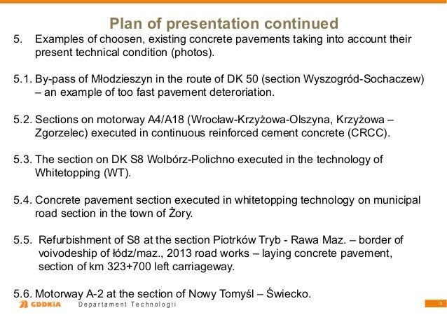 """Witold Zapasnik """"Ülevaade betoonteede ehitamisest Poolas viimase 25 aasta jooksul"""" Slide 3"""