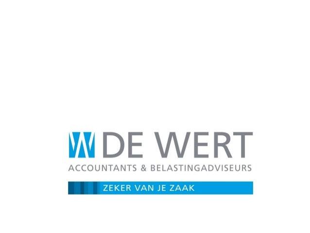 Programma 1. De Wet Werk en Zekerheid (WWZ), introductie 2. Het nieuwe arbeids- en ontslagrecht – Kort overzicht van de be...