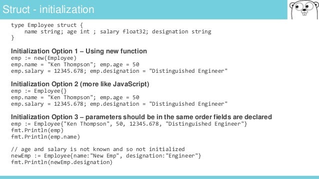 Golang - Overview of Go (golang) Language