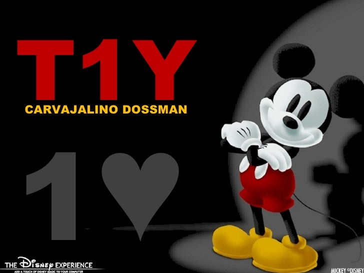 Tomas 1 ♥ T1Y CARVAJALINO DOSSMAN