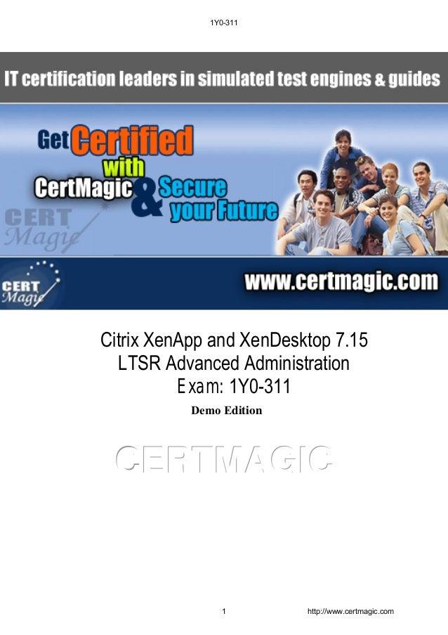 Citrix XenApp and XenDesktop 7 15 LTSR Advanced