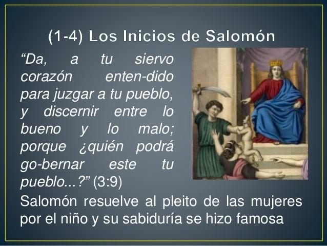 Sí él o sus hijos se apartan tras otros dioses, los casti-gará y quitará de la tierra Dios hace pacto con Salo-món y le de...