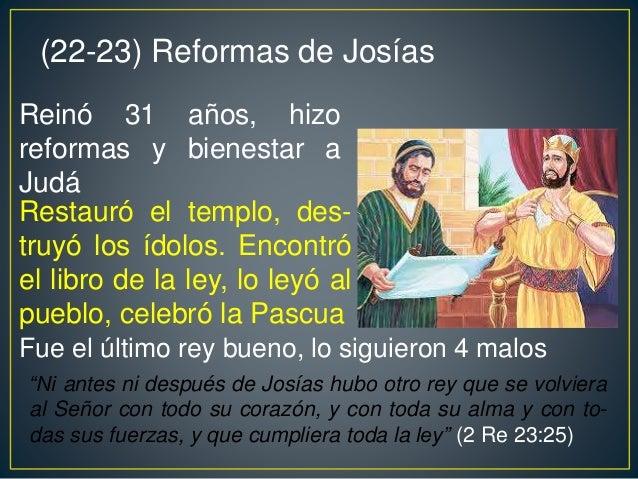 LA LISTA DE LOS REYES DE JUDÁ E ISRAEL Reyes en Israel Reyes en Judá