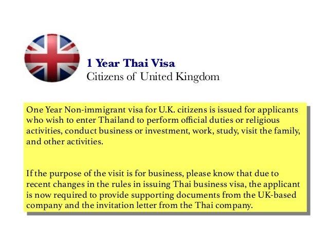 One year thai visa citizens of united kingdom 1 year thai visa citizens of united kingdom one year non immigrant visa for uk stopboris Gallery