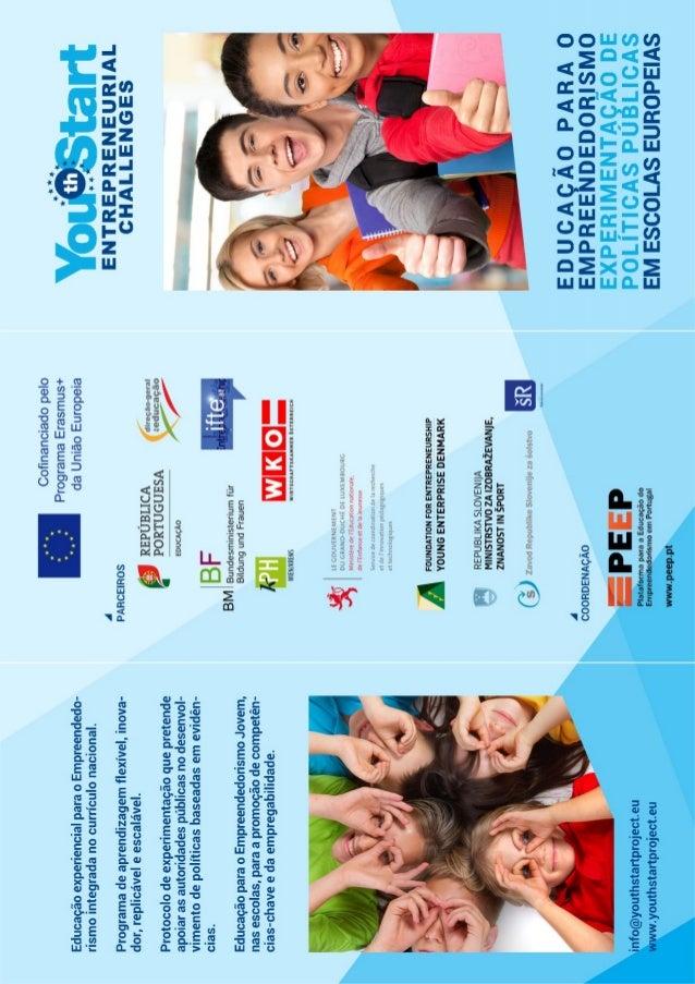 Folheto YSEC versão portuguesa