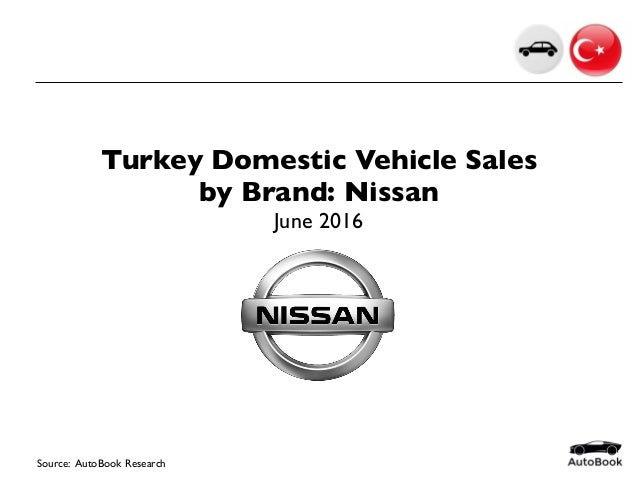 2016 06 Turkey Car Sales Nissan June 2016
