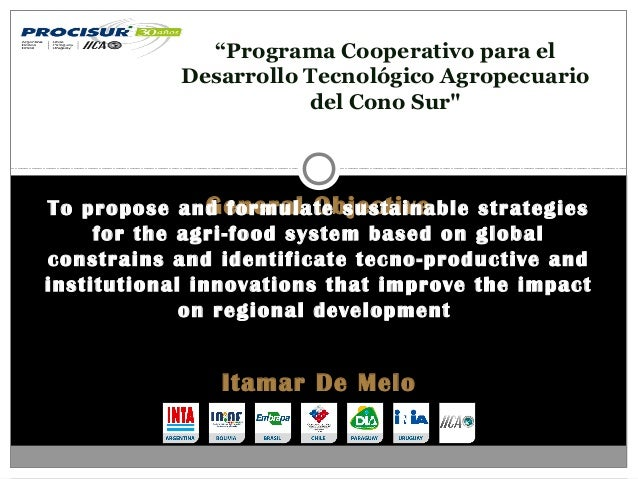 General ObjectiveTo propose and formulate sustainable strategies for the agri-food system based on global constrains and i...