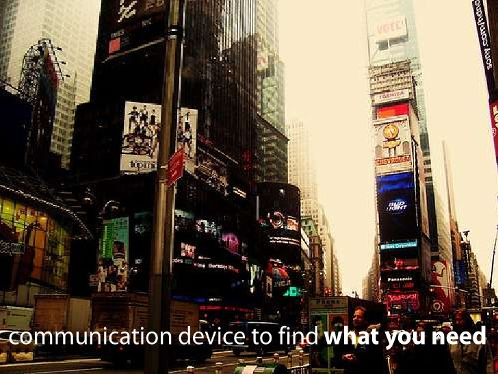 communication device to find what you need<br />