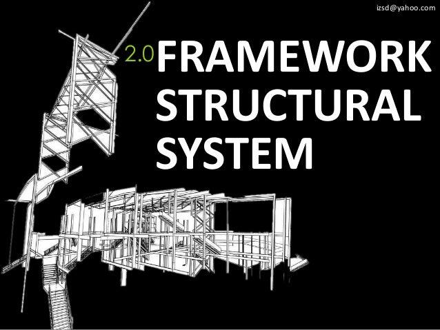 izsd@yahoo.com2.0   FRAMEWORK      STRUCTURAL      SYSTEM