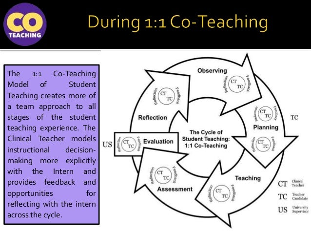 Collaborative Co Teaching Model : Moving beyond sink or swim coteaching model for aera