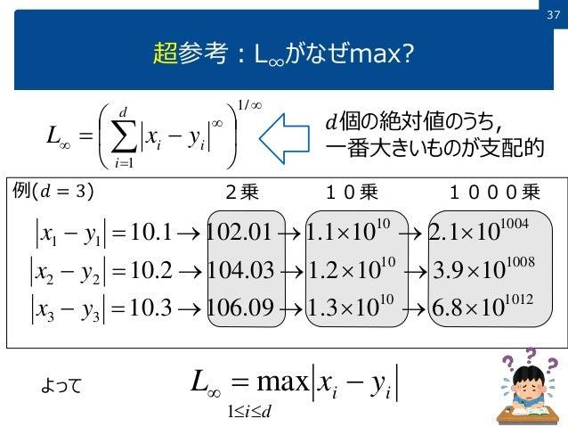 データサイエンス概論第一=2-1 データ間の距離と類似度