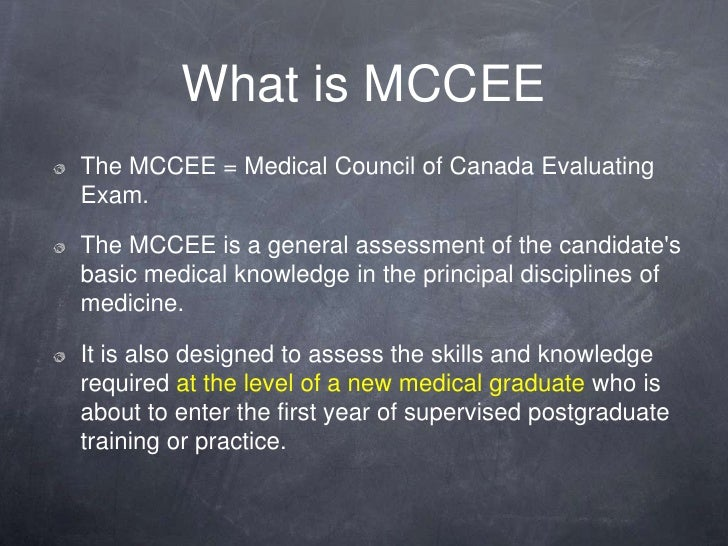 Image result for PROCEDURE FOR MCCEE