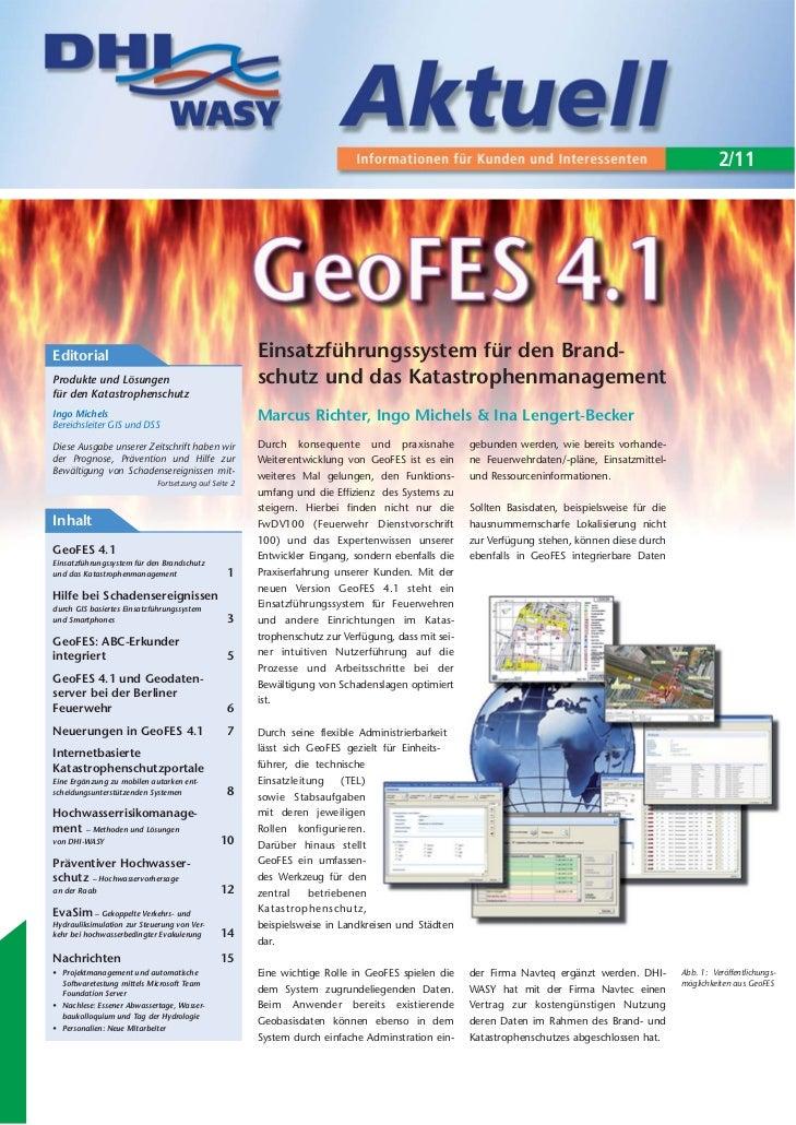 2/11Editorial                                             Einsatzführungssystem für den Brand-Produkte und Lösungen       ...