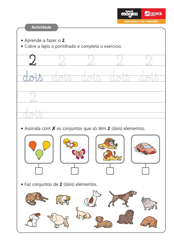 e                                                       Ensino Básico | 1.ºano | Matemática     Actividade• Aprende a faze...