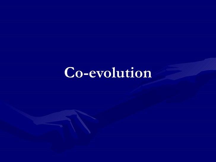 Co-evolution