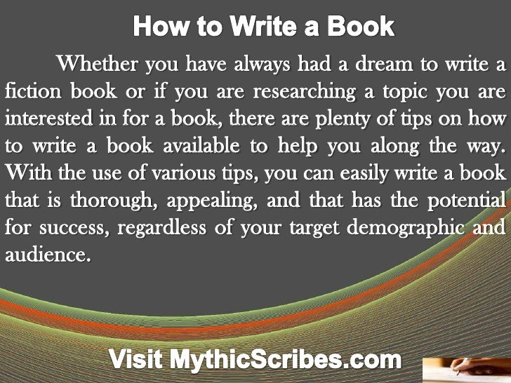 Whether you have always had a dream to write afiction book or if you are researching a topic you areinterested in for a bo...