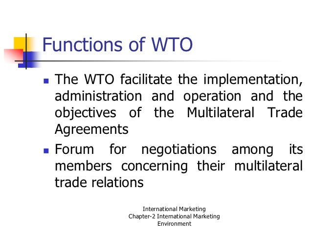 Difference between multilateral and plurilateral trading system