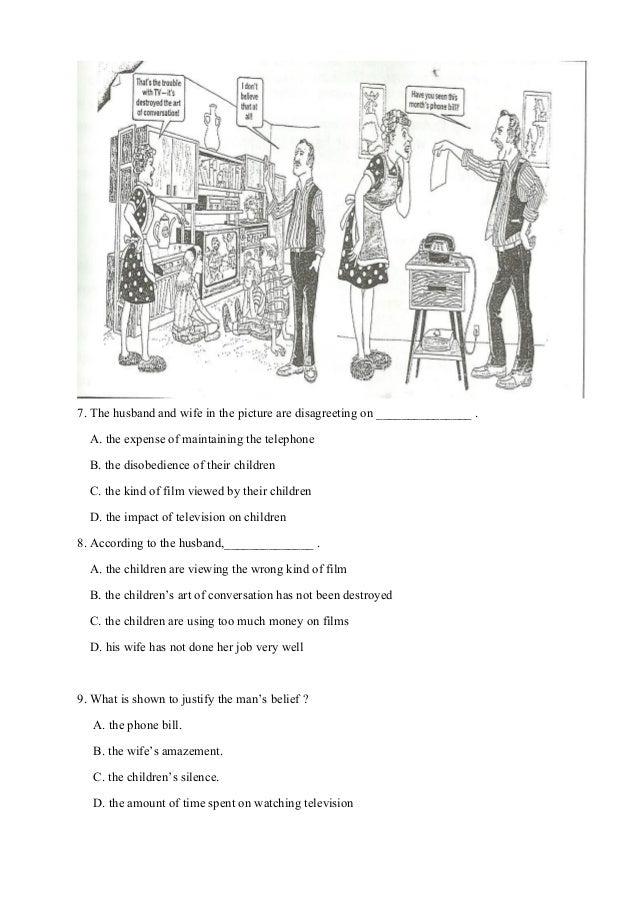 ชุดที่2 โยก  มีเฉลย- 12หน้าข้อสอบการ์ตูนภาษาอังกฤษกลางภาคเรียนที่2-2557 Slide 3