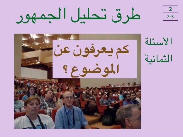 !ما!هو!الوضع السياسي؟ الجمهور تحليل طرق 2 2-5 !األسئلة الثمانية