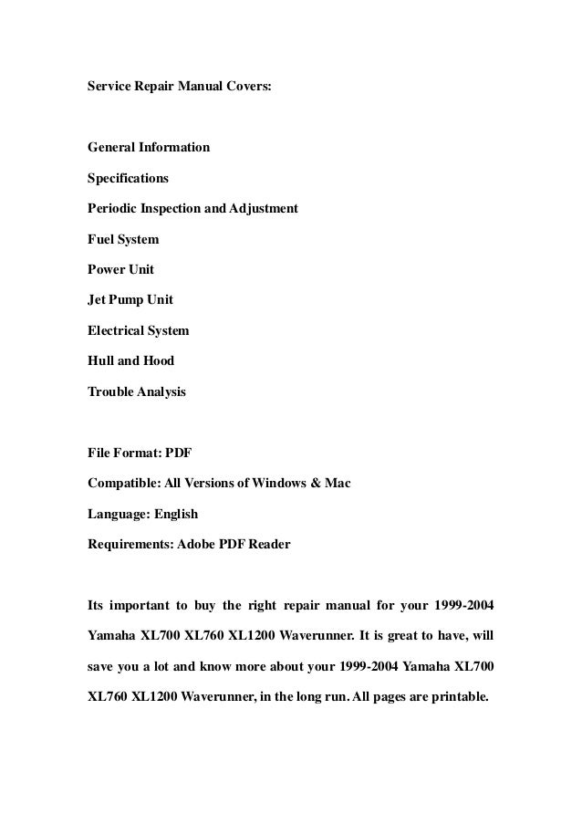 19992004 yamaha xl700 xl760 xl1200 waverunner service repair workshop manual download 1999 2000 2001 2002 2003 2004 2 638?cb=1359368055 1999 2004 yamaha xl700 xl760 xl1200 waverunner service repair worksho