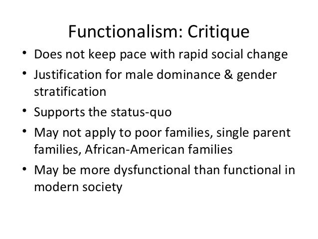 functional perspectives view the poor as dysfunctional Yeesh that sounds horrible in fact it sounds downright dysfunctional so what is a functional family how do we know if we have one how would you define a functional family view all posts by elvira g aletta.