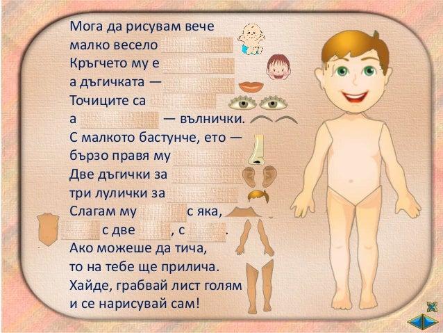 Човешкото тяло - ОС - 2 клас - В.П. Slide 3