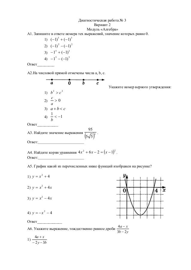 Гдз Модуль Алгебра