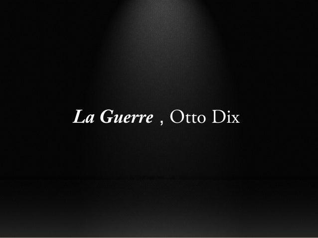 La Guerre , Otto Dix