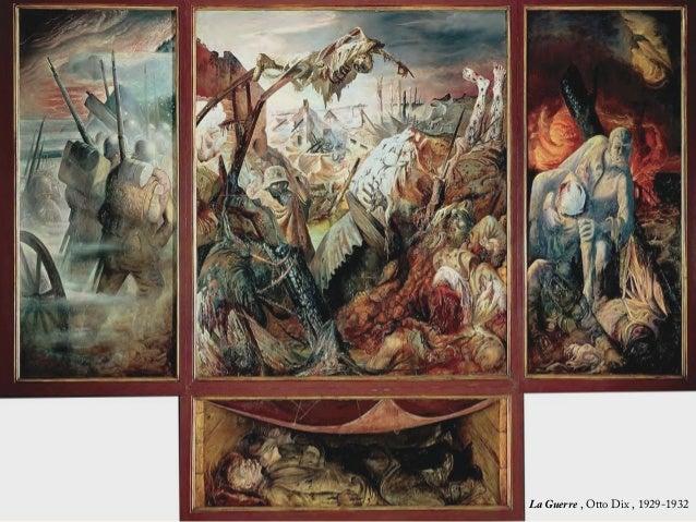 Critique d 39 art la guerre otto dix for Courant artistique