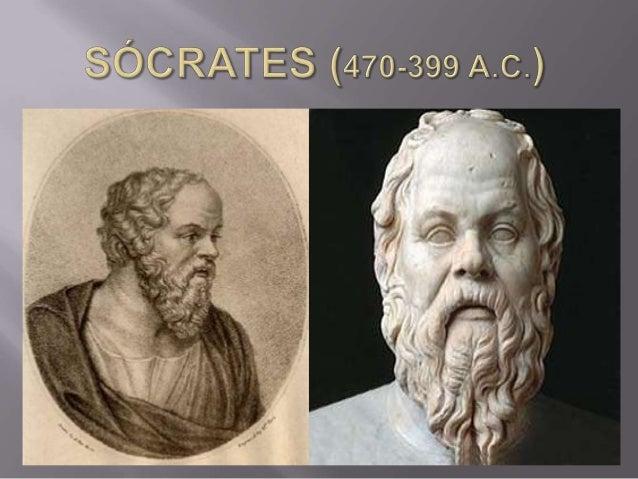  Nasceu em Atenas, Grécia;  Abandonou a preocupação com o mundo físico (natureza) e passou a preocupar-se com questões m...