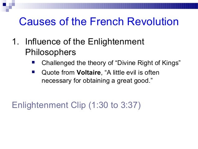 2.2 Causes Of The French Revolution